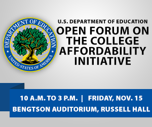 Open Forum on the College Affordability Initiative