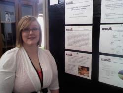 April 27 - CSBS Student Research Conference McNair Scholar Danielle Stuck
