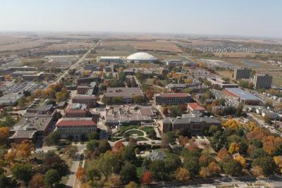 UNI Campus Aerial View